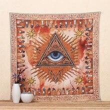 Creativo tapiz decorativo totem symbol de una libertad de diseño textil toalla de pared decorativos arte de la pared cubierta de cama/sofá/piso