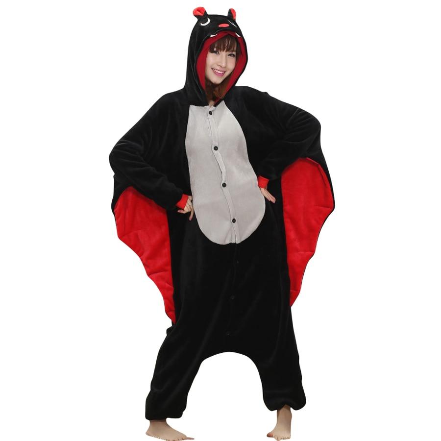 Unisex Adult Cosplay Animal Bat Costume Rompertje Pyjama Voor - Carnavalskostuums - Foto 3