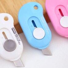 Art Knife Opener Paper-Cutting Small Mini Office-Stationery Portable Jonvon 3pcs Express-Box