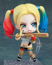 Anime Q version Harley Quinn 672 10cm PVC Action Figure Toy Doll Model for Suicide Squad