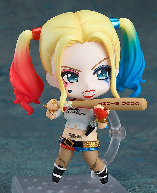 Anime Q version Harley Quinn 672 10cm PVC Action Figure font b Toy b font Doll
