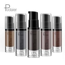 Pudaier Long Lasting 4D Eyebrow Gel Waterproof Sweat Professional Natural Tint Black Brown Paint Enhancer Cream 6 Colors