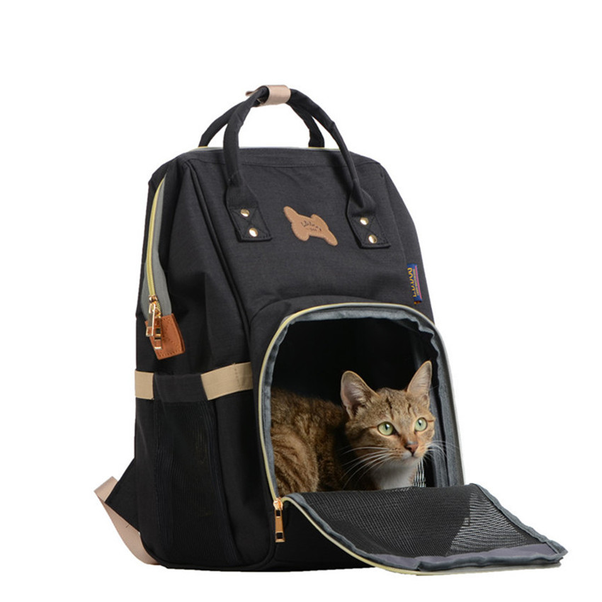 Fashion Denim Dog Carrier Pet Backpack Cat Travel Bags For Small Dogs Animals Puppy Chihuahua Handbag Shoulder Bag British Style