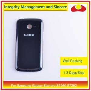 Image 5 - For Samsung Galaxy Star pro S7260 S7262 Housing Battery Door Rear Back Cover Case Chassis Shell Replacement
