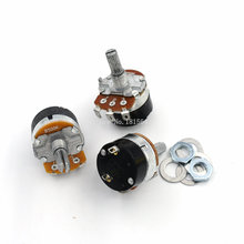 5PCS/LOT WH138-1 B500K Adjustable Resistance Speed Regulator With Switch Potentiometer WH138 500K