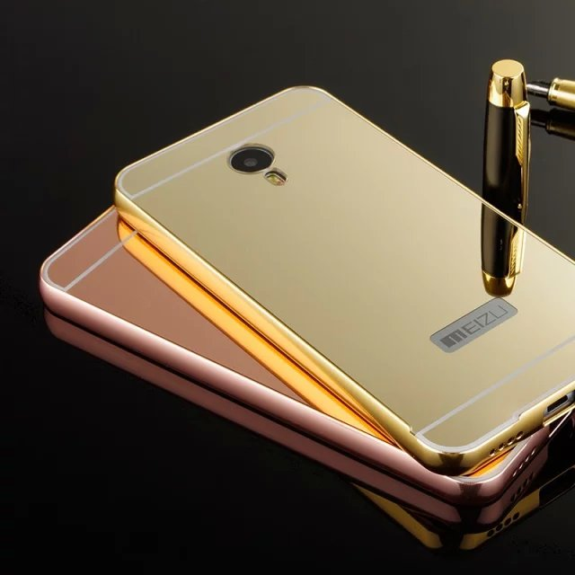 cheap for discount ddb5b f6136 US $12.0 |New Arrival Luxury Xiaomi Redmi Note 2 4G Aluminum case gold  plated shiny acrylic mirror back For Xiaomi Redmi Note2 5.5