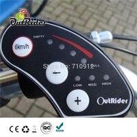 高品質! 36 V 6 + 1 LED ディスプレイ E-バイク/電動自転車 OR04A4