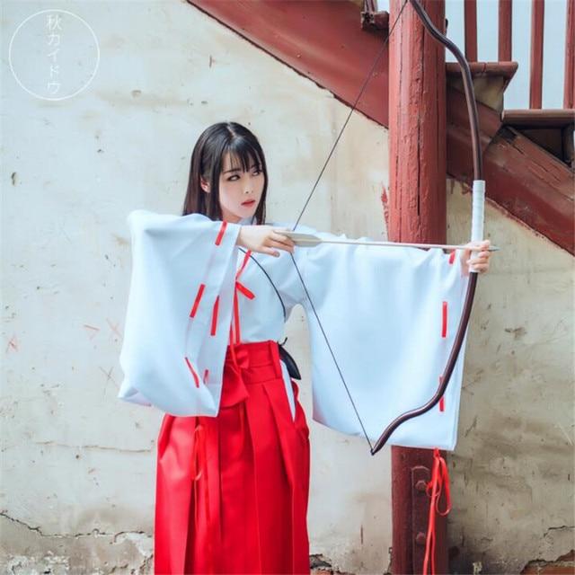 Аниме косплей кимоно Инуяша 1