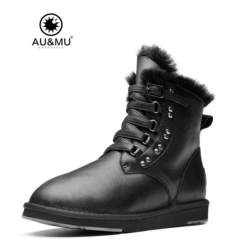 2017 AUMU Pattern Leather Winter Boots UG N080 ug nx6 0实用教程