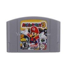 Nintendo N64 видеоигры картридж Консоли Карты Mario Party 3 Английская литература ЕС PAL версия