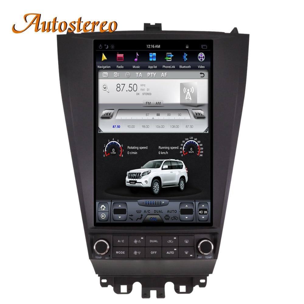 Android7 Tesla style Car GPS Navigation For HONDA ACCORD 7 seven 2003 2007 headunit multimedia radio