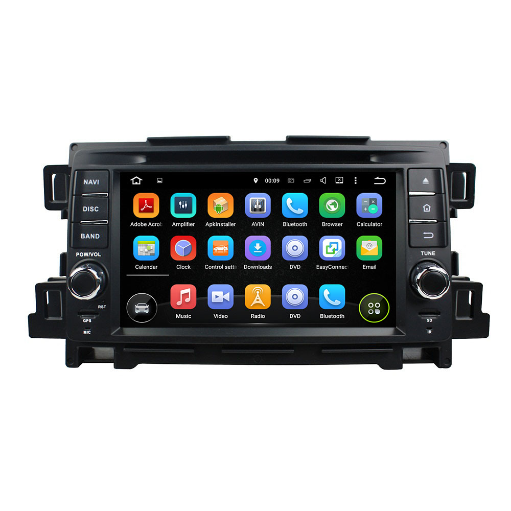 "KLYDE 7"" 8 Core Android 8.0 For Mazda CX-5 2011-2012 Car Radio 2+16GB 4+32GB 4+64GB Multimedia Player Audio Stereo 1024*600"