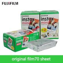 Original Fuji 70 Sheets White Film 70 Photo Paper Snapshot Album Instant for Fujifilm Instax Mini