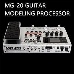 معالج النمذجة الجيتار MG20 أكثر من 60 نموذج آلة الطبل لوبر المدمج في موالف التعبير دواسة الغيتار الكهربائي المؤثرات