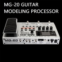 MG20 guitar modeling processor more than 60 models drum machine looper built in tuner expression pedal electric guitar effects