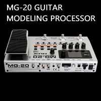 MG20 procesor modelowania gitary ponad 60 modeli automat perkusyjny looper wbudowany tuner pedał ekspresji efekty gitary elektrycznej