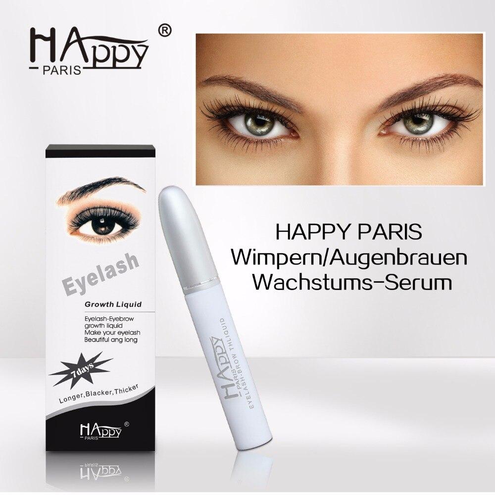Happy Paris Factory price Long Lasting Eyelash Extension Serum for short eyelash Happy paris eyelash growth