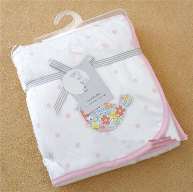 Cobertor do bebê recém-nascido do velo dos miúdos cama Sofá Cobertores Mantas Colcha Toalhas de Banho do bebê swaddle