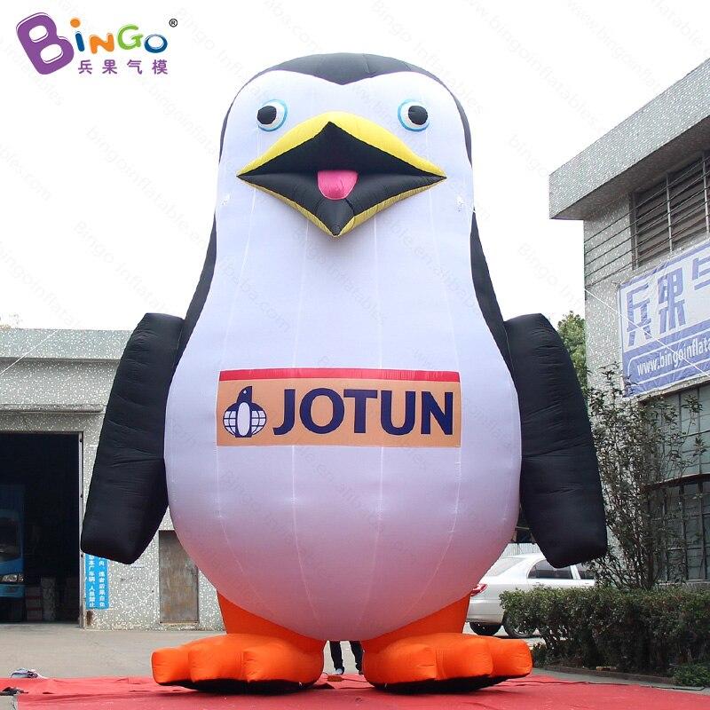 Индивидуальные 20 футов логотип печатается гигантские надувные Пингвин декоративные 6 м Высокое airblown стоял Пингвин с вентилятором игрушки