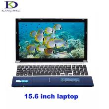 Kingdel laptop 15.6 inch Intel Celeron J1900 Quad Core netbook 4G RAM+500G HDD HDMI USB 3.0 WIFI Bluetooth DVD-RW home computer