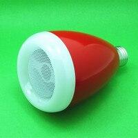 Усилитель Bluetooth Смарт Музыка Лампы Цвет Беспроводная Акустическая система Умный Свет Лампы для Дома Бар Кофейня Партия
