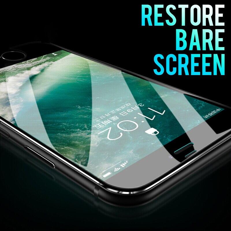 Θερμαινόμενο γυαλί για iPhone 8 7 6 X Γυαλί - Ανταλλακτικά και αξεσουάρ κινητών τηλεφώνων - Φωτογραφία 3