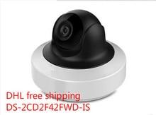 Venta al por mayor inglés cámara del IP versión mp WDR Mini cámara de red PTZ DS-2CD2F42FWD-IS