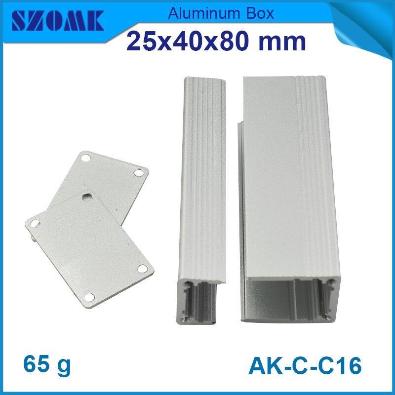 ᑎ‰4 pcs/lot aluminium distribution box aluminium box for electronic ...