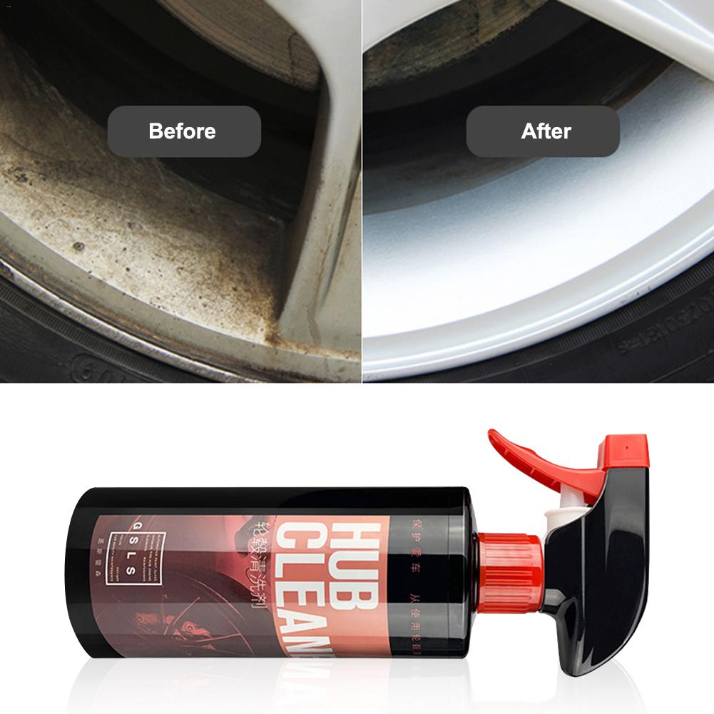 Image 5 - 500ML Wheel Cleaner Hub Cleaning Car Steel Stainless Steel Glazing Decontamination Rust Removal Steel Ring Remove Iron Powder-in Rust Remover from Automobiles & Motorcycles