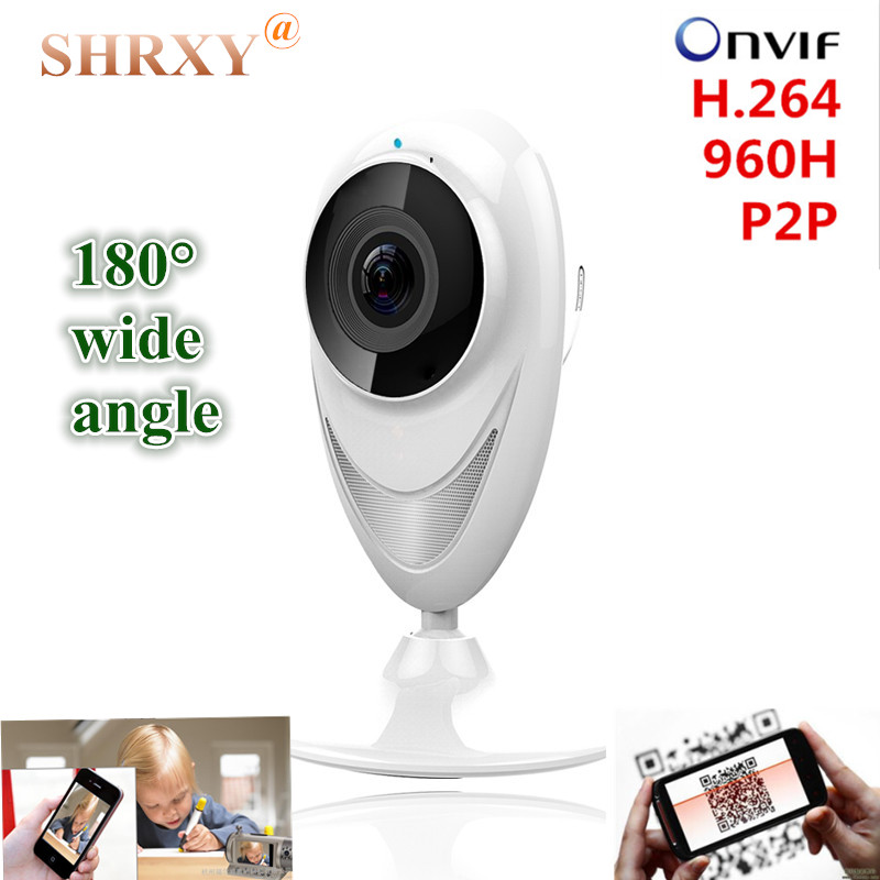 180 wide angle Home Security IP Camera Wireless Mini CCTV Camera Surveillance Camera Wifi 720P Night Vision Camera Baby anytime