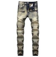 2018 Hot Sales Autumn Spring Men Jeans Stylish Fashion Good Quality Long Pants Jean Free Shipping