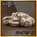 [Показать. Z Store] Star craft Terran Человека Круцио Осадного Танка 3D Металлические Головоломки Серый Серебро DIY Режиме