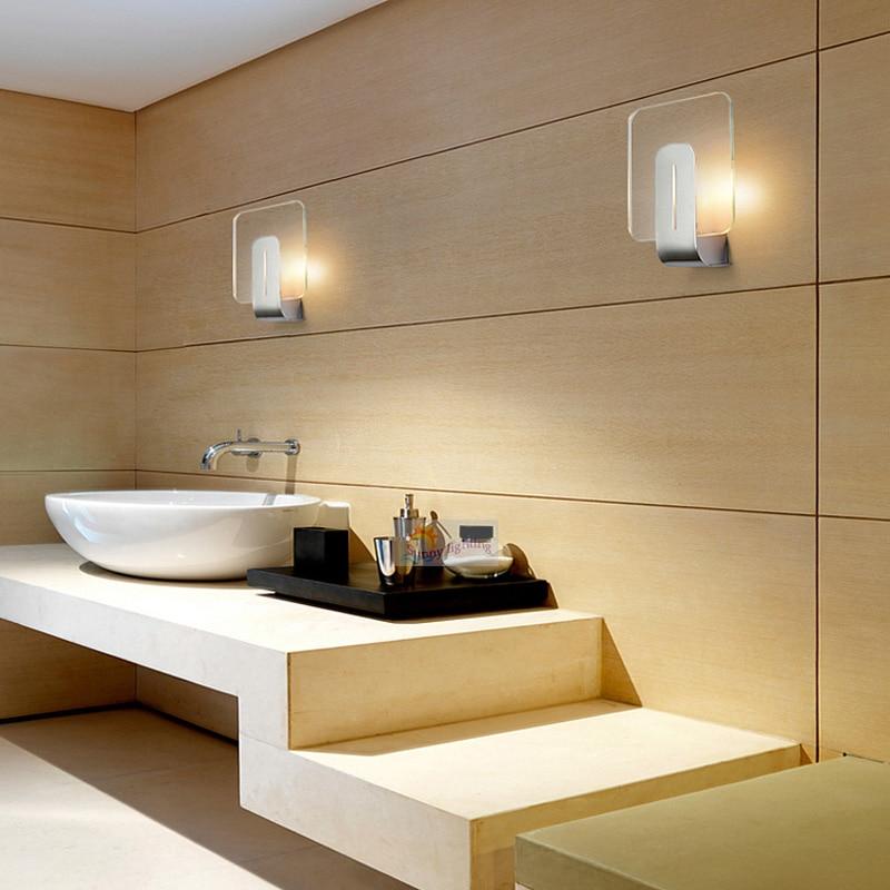 7W Sconce LED Picture Mirror Light Reading Bedroom Bedside Bathroom ...