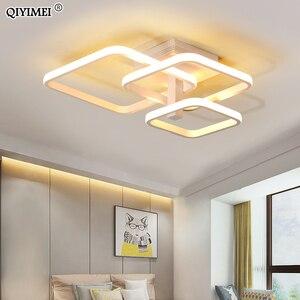 Image 2 - جديد LED ضوء السقف لغرفة المعيشة غرفة الطعام غرفة نوم عكس الضوء مع البعيد الأبيض القهوة الإطار تركيبة إضاءة lamvillage دي تيكو