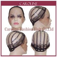 Сетчатый передний кружевной парик без клея колпачок для изготовления париков с регулируемыми бретелями ткацкая шапка s для женщин волосы и сетки для волос легкая шапка 6020