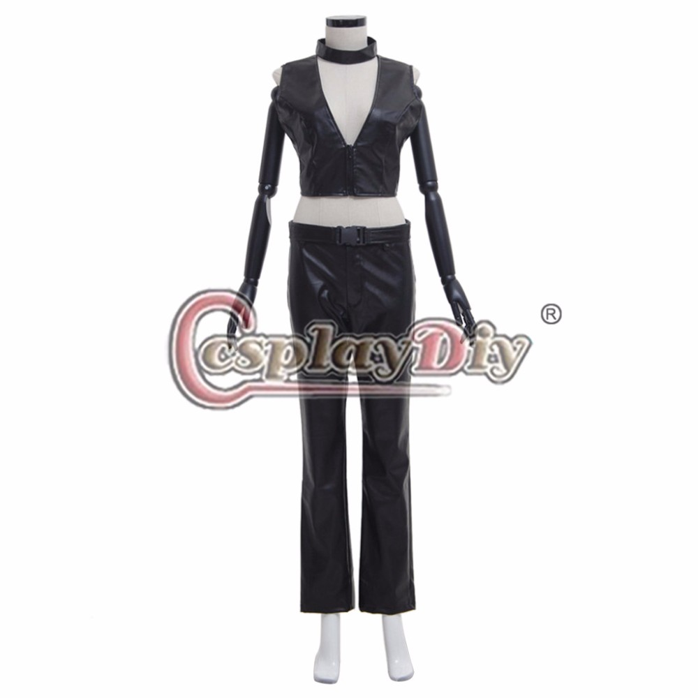 Cosplaydiy TV Daredevil Cosplay Costume Elektra Adult Women Halloween Carnival Cosplay Suit Custom Made D0615
