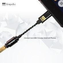 TempoTec Sonata HD TYPE C до 3,5 мм усилитель для наушников адаптер ЦАП для телефонов ПК Android MAC