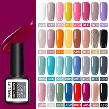 LEMOOC 8ML UV Gel Nail Polish Pink Color Series Vernis Semi Permanant Paint For Nails 52 Colors Soak Off Art