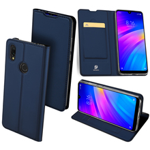 Original Dux Ducis Pu Leather Case For Xiaomi Redmi 7 Y3 Coque Luxury Thin Flip Wallet Cover Phone Cases