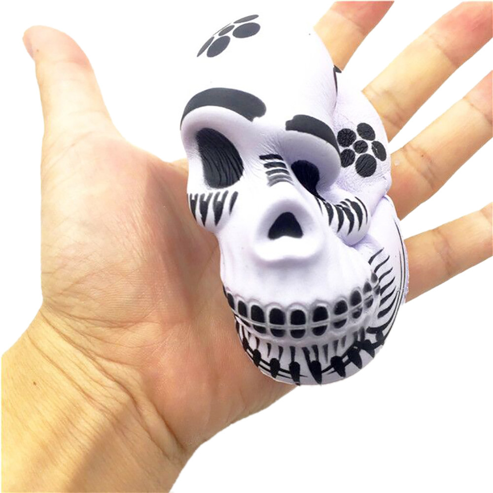 New hot kids boy girl toys Exquisite Fun Galaxy Skull Scented Squishy Charm Slow Rising 10cm