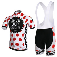 Summer Cycling Short Sleeves 2017 Cycling Jersey Bib Set Bike Clothes Suits Ropa Maillot Ciclismo L069