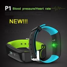 COMLYO NEW Arrival P1 Smart wristband Bluetooth Blood pressure Heart rate Monitor Smart Bracelet Waterproof Swimming Smart band