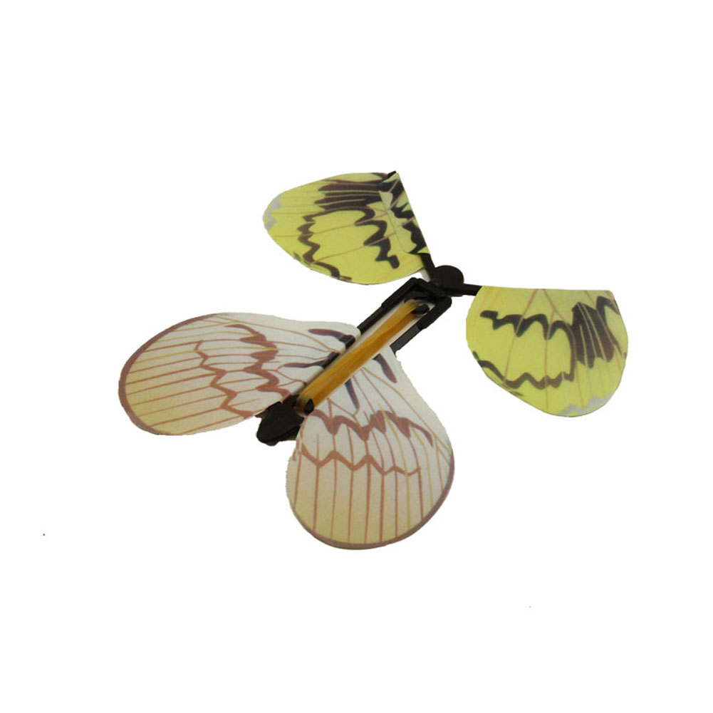 5pcs Magic Hand Transformation Fly Butterfly Tricks Props Surprise Prank Toys FJ88