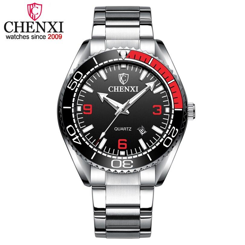 de54f22aa08a CHENXI reloj de los hombres 2019 nueva moda relojes de cuarzo de los hombres  de la marca de lujo de negocios relojes hombre cronógrafo reloj Masculino