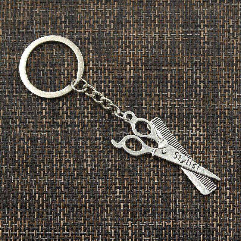 მოდის 3cm Key Ring Metal Key Chain Keychain - მოდის სამკაულები - ფოტო 3