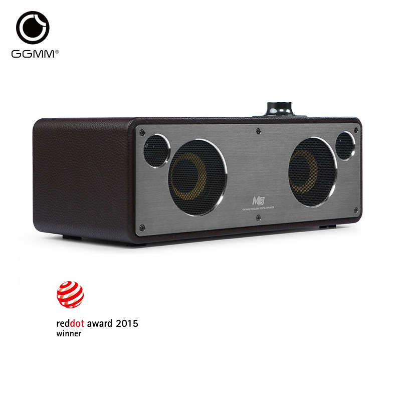 GGMM Reddot Award Bluetooth Speakers Wi Fi Subwoofer Wireless Stereo Audio Receiver Bass Sound With Bluetooth / Wi Fi / Aux in