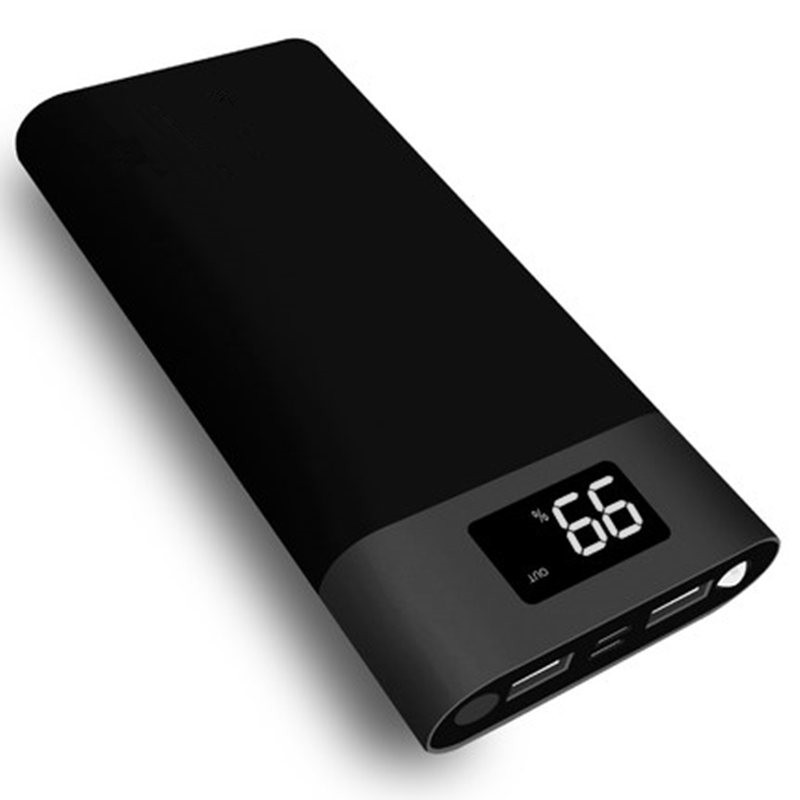 20000 mah Power Bank Universal Tragbare 2usb Power bank 20000 mah Batterie Power cargador portatil für xiaomi Samsung telefon