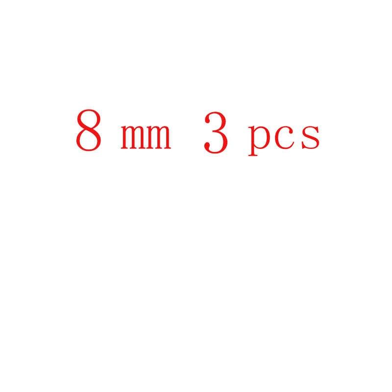 FLTMRH อัญมณีธรรมชาติหินสีขาว Howlite Turquoises 4 6 8 10 12 14 มม. สร้อยข้อมือ Diy Charm ลูกปัด