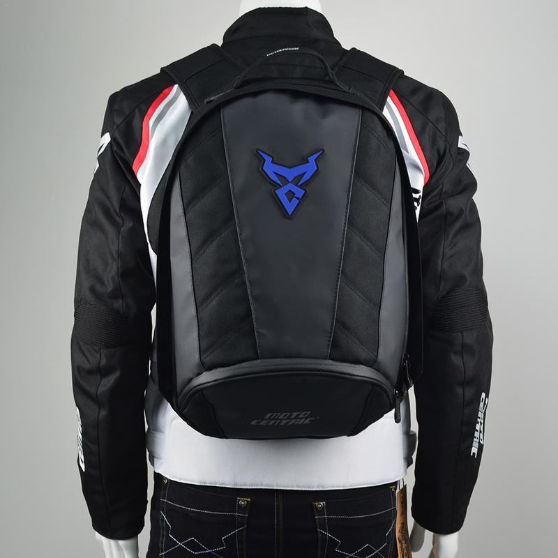 Pour Moto centrée casque de Moto sac à dos étanche vélo sac à dos Moto sac de voyage de loisirs sac à bandoulière Mc-0078