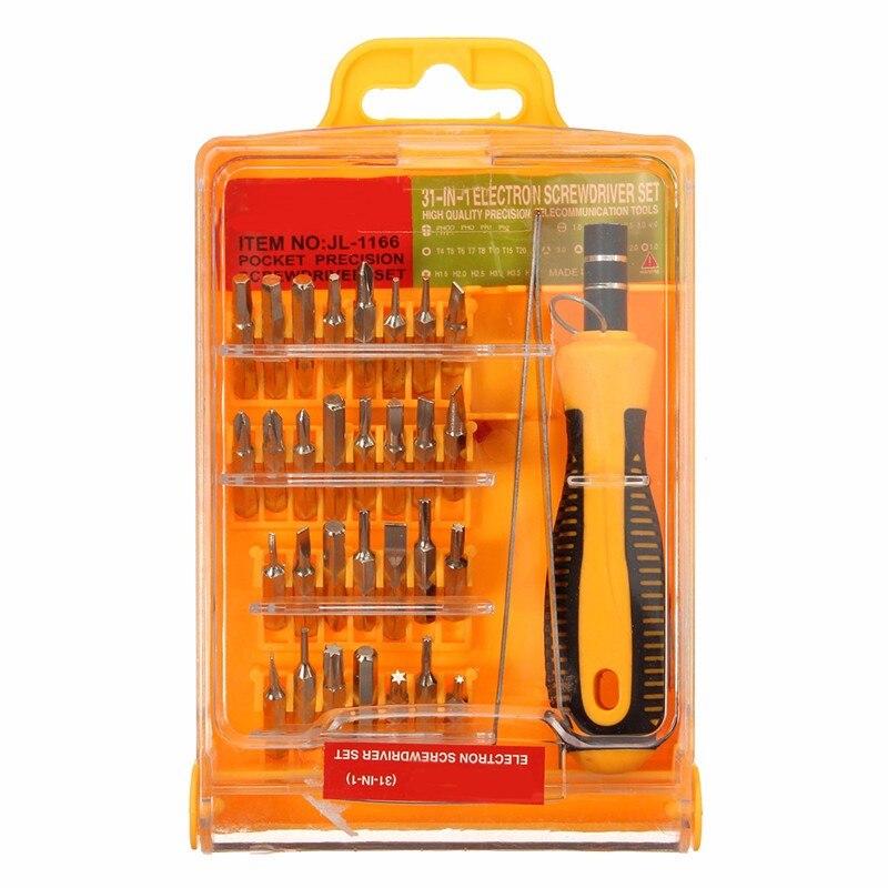 1 set 32 in 1 screwdriver set micropocket precision screwdriver multifunction. Black Bedroom Furniture Sets. Home Design Ideas